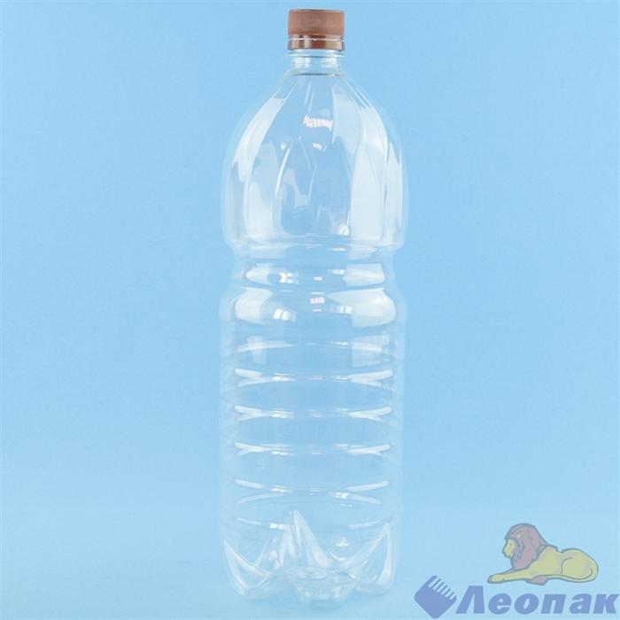 Бутылка ПЭТ 1,5л. (б/цветная) (50шт.) - фото 13499