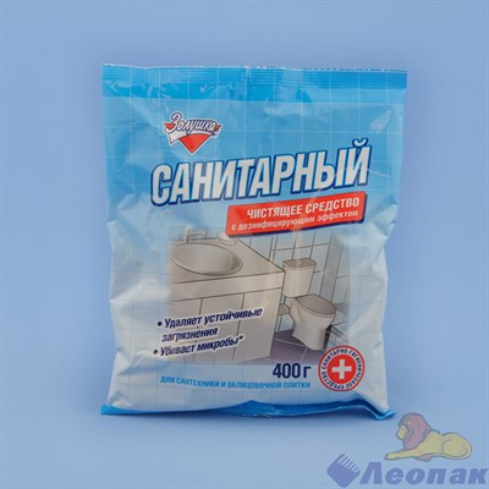 Санитарный порошок с дез. эффектом, 400 г, Золушка, Ч13-1(12шт.) - фото 15158