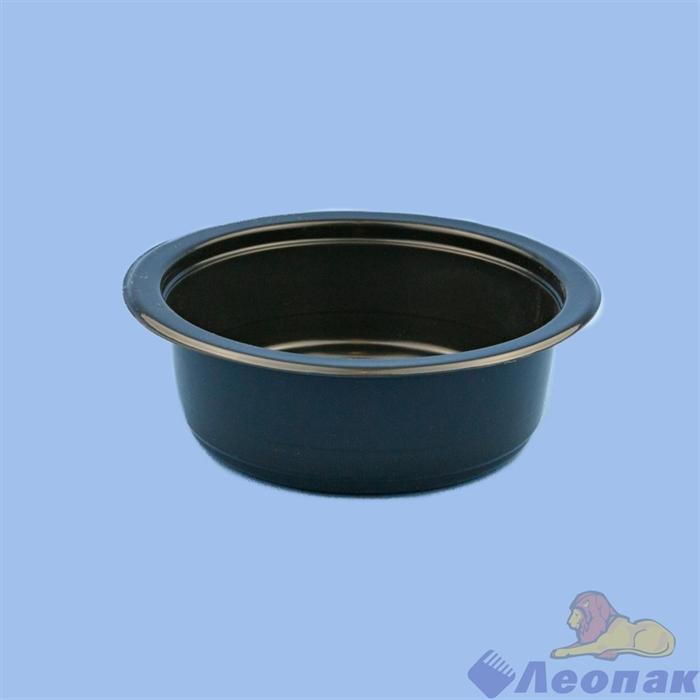 Лоток под запайку УПБ-140*45 (375мл) ПП черный   (350шт) - фото 15646