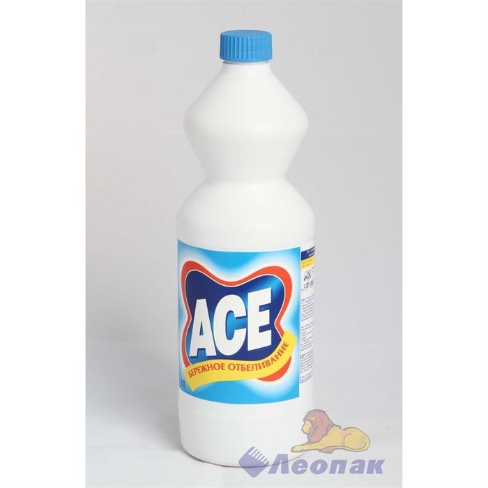 Отбеливатель АСЕ жидкий 1л (18шт) - фото 4516