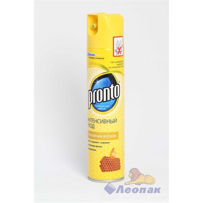 Полироль  Пронто  250мл  аэрозоль антипыль для мебели /12 - фото 4544