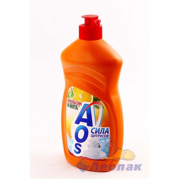 ЖМС  AOS  500г Апельсин и мята/20шт (Акция 30%) - фото 4566