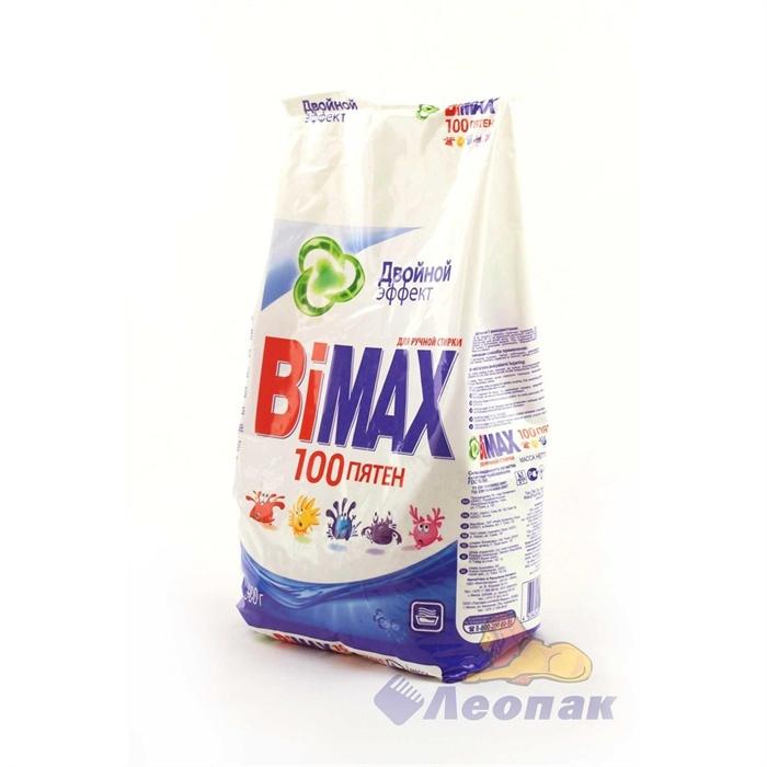 BiMax  руч/стир. 900г 100 пятен м/у (2) /12шт - фото 4622
