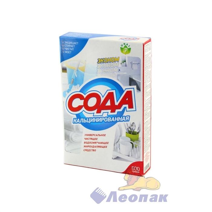 Сода кальцинированная 600гр (24шт) - фото 4649