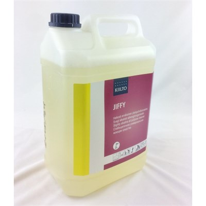 Средство для очистки ковровых покрытий  Киилто Джиффи  5л (слабощелочное) Т7406.005 - фото 4657