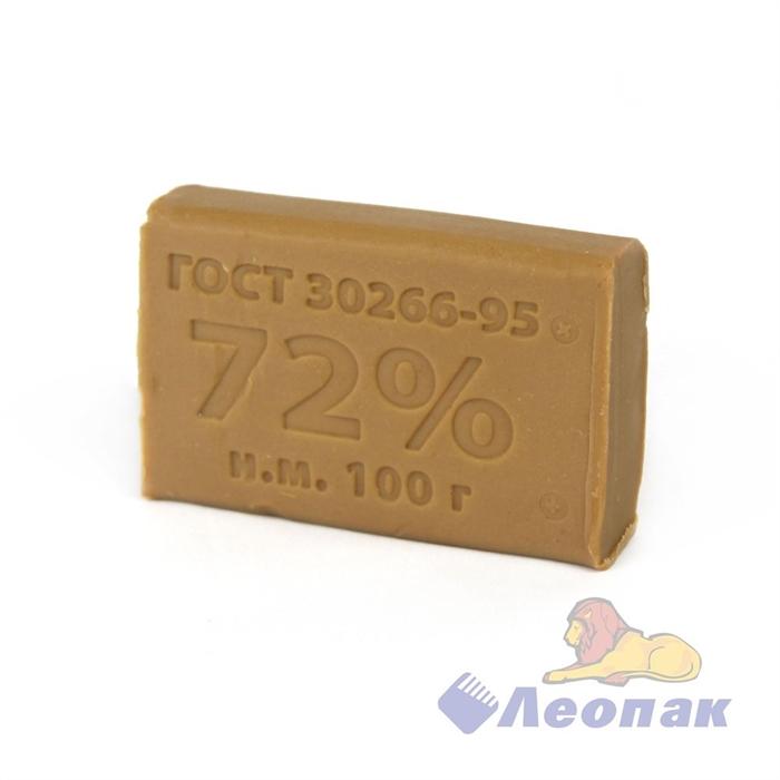 Мыло хозяйственное 72% 100гр (90шт) - фото 4680