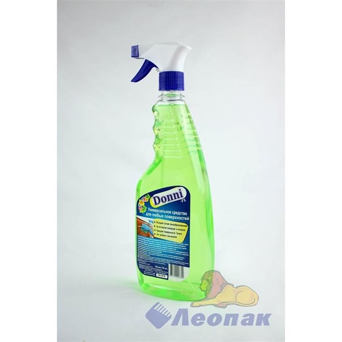 DONNI-FX для мытья любых поверхностей 750мл флакон с триггером/20шт - фото 4736