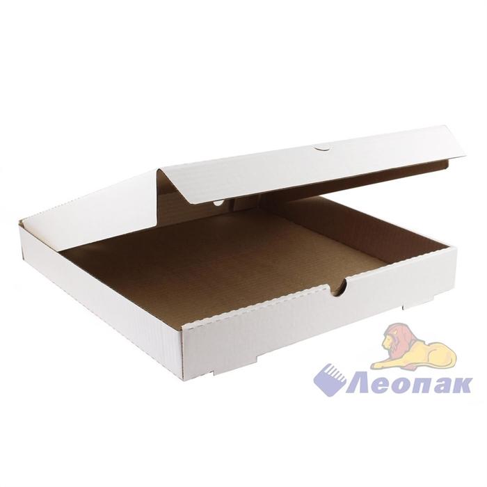 Коробка под пиццу 370х370х50 (50шт/1уп) белая - фото 4905