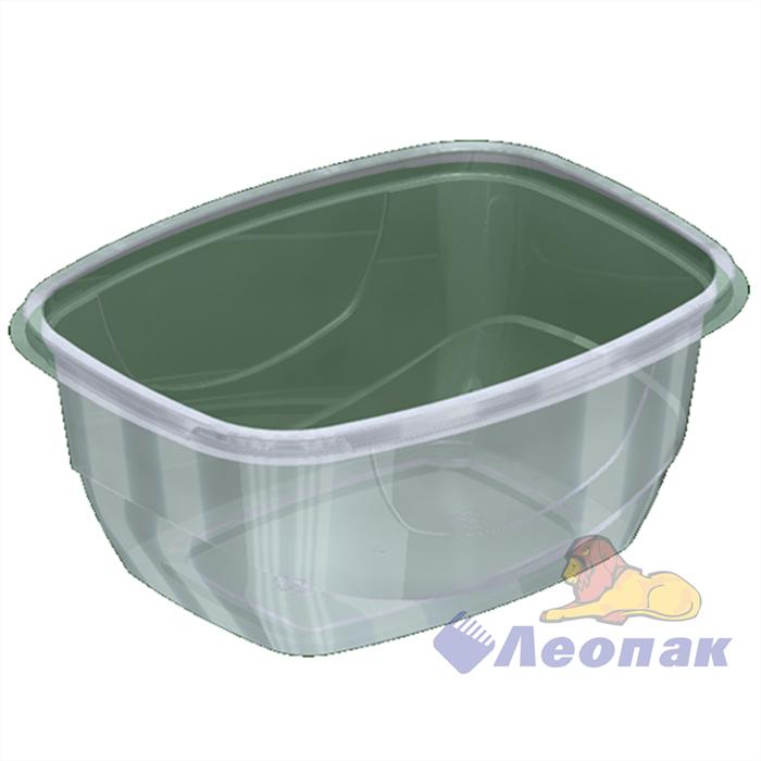 Емкость-контейнер УК-377А б/крышки 300г. прямоуг. 142х102х44 (720) Каштан - фото 4946