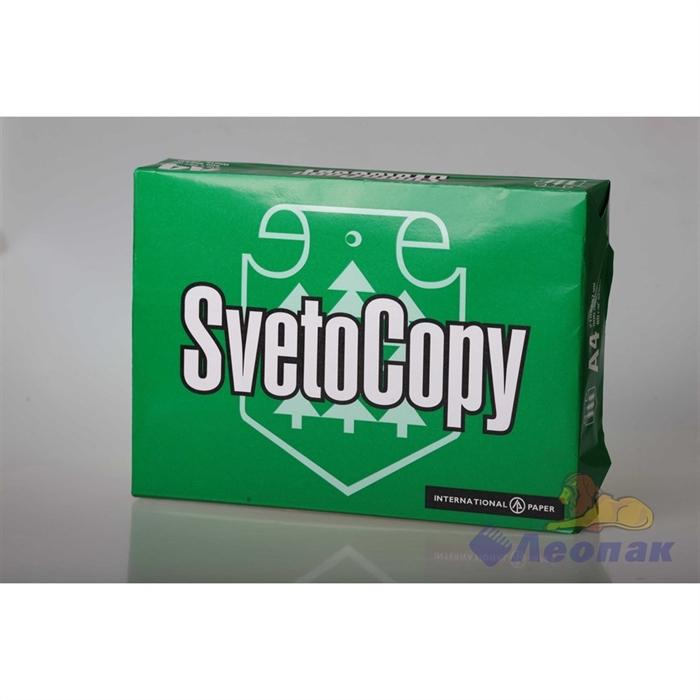 Бумага А4  SvetoCopy  NEW (80г/м. 500 л.) (кор=5пач.)арт.64882 - фото 7566