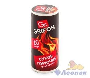 Сухое горючее Grifon, в таблетках (10шт/40уп) арт. 600-131