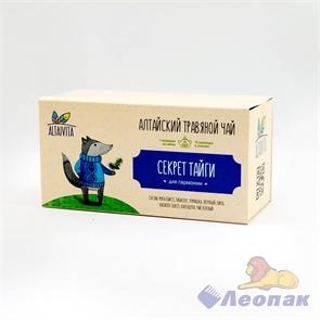 Чай алтайский травяной  Секрет тайги , в пирамидках 40гр ALTAIVITA