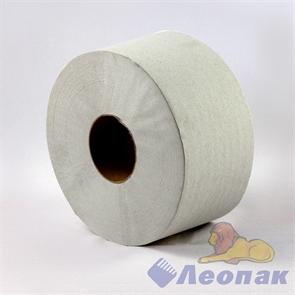 Бумага туалетная  200м  с/вт. (12шт) 1-слойная, серая (2,0) арт.Д1291602-95
