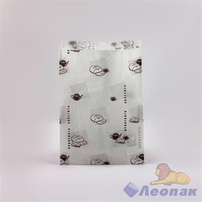 Пакет бумажный 210х140х60мм с печатью (100шт/уп)
