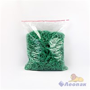 Резинка банковская 30мм 1кг (1/25уп) цветная