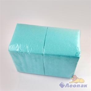 Салфетка голубая-пастель ЭКО (400шт/12уп) 24х24см  арт.Б3151602