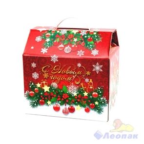 Коробка н/г  Новогодний сундук  244х250х190, 25шт./пач (4,0-5,0кг)
