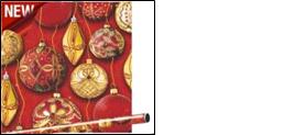 Бумага оберточная  Золотой праздник  , 0,685*1 м (1/50) Интер