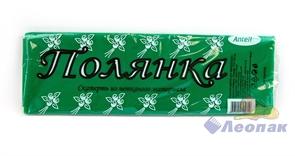 Скатерть 110 х 140см  ПОЛЯНКА  (1шт/70шт) зеленая  из неткан. матер.