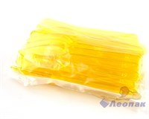 Нож  ПРЕМИУМ  пластиковый ЖЕЛТЫЙ (48шт/42уп)