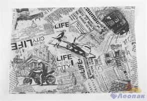 Обертка для ГАМБУРГЕРА (Big Citi Life 380*260) (1000/3000шт) 000057