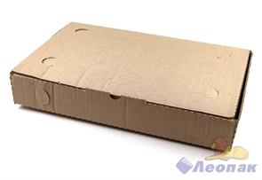 Коробка д/пирога 390х250х60 Т23 серая (50шт/1уп)