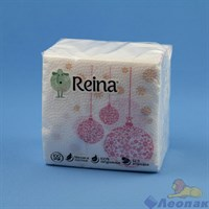 Салфетка  REINA  (100шт/60уп) Новый год