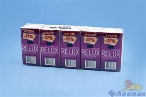 Платочки бумажные  RELUX  с ароматом розы (10шт/1уп/24уп)