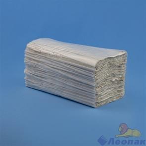 Полотенца бумажные листовые 1-сл. (15уп=200лист) V сл. серые (МК)