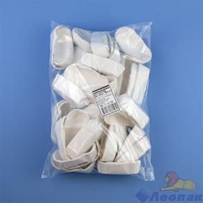 Формы бумажные для маффинов OV4  28*78*24,5мм белая ОВАЛ (1000/8000)