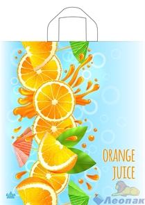 П-петл.ручка 42х38-37мкм Апельсиновый сок ПНД (50/500) ТИКО