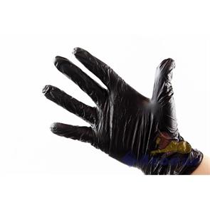 Перчатки нитриловые неопудренные ЧЕРНЫЕ  ХL  (100шт/1уп)