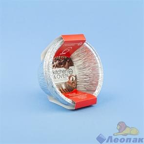 Формы алюминиевые GRIFON, круглые, d 86мм, 6 шт. в упак./80/1, 500-033