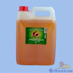 Мыло  жидкое Зодиак, 5 л, Персик, канистра К10-2