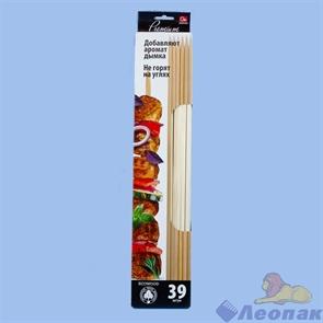Шампуры GRIFON Premium ECO, 40 см, береза, 39 шт. в упак./22/1 650-017