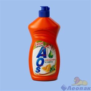 ЖМС  AOS  450г Апельсин и мята/20шт (Акция 30%)