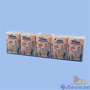 Платочки бумажные  Linia Veiro  Мини 2 слоя (10шт/1уп/36уп) Арт. 7Т10-2Мини