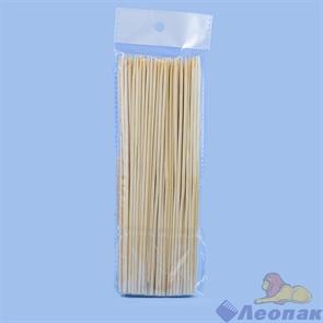 Стеки для шашлыка бамбук 20см (100шт/100уп) Континент