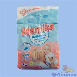 Стиральный порошок Mamika Детский 2,4кг п/э, 8 шт/кор, арт 595П