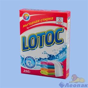 Стиральный   порошок   LOTOC   автомат+ручная   стирка  350г  Карт/п,30шт/кор., арт 668