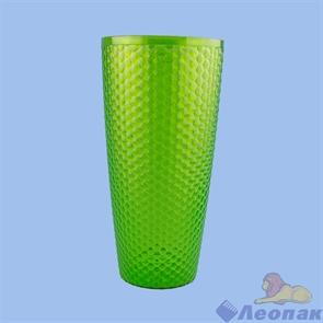 Ваза д/цветов  Мозаика люкс  Д150мм,В305мм (зеленый) (уп.20)