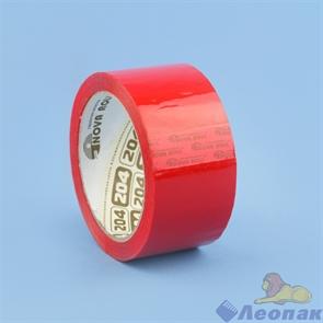 Скотч 48х66м красный Nova Roll арт. 204 (36шт)
