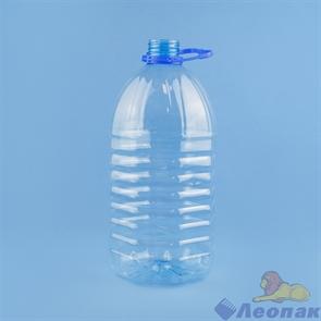 Бутылка ПЭТ 5л. РП48  ( б./цветная,голубая) (30шт)