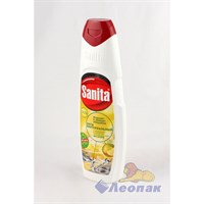 Средство для мытья посуды  Sanita Сила лимона  500мл  (21шт)/СХЗ  8612