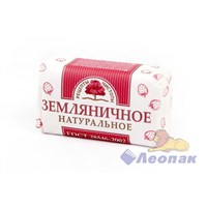 Мыло туалетное  180гр  Земляничное  (72шт) /Новгород