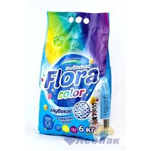 Порошок стиральный  Флора  колор 6кг