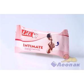 Салфетка влажная   Lili  для интимной гигиены (15шт)