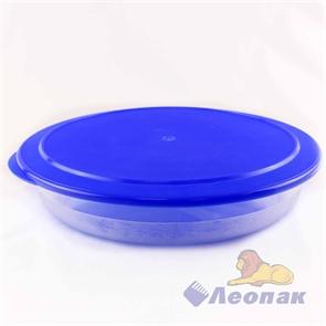 Контейнер круглый плоский 2.1л (306х55мм)  (18шт.) / Стандарт