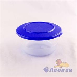 Контейнер круглый глубокий 0.5л (140х70мм)  (72шт.) / Стандарт