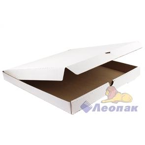 Коробка под пиццу 450х450х40  Т11( 50шт/1уп) белая